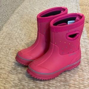 Cat and Jack Pink Boots Size 8